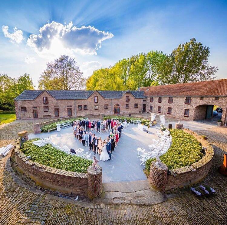 Hoehnholz-Innenhof-Herz-Hochzeit
